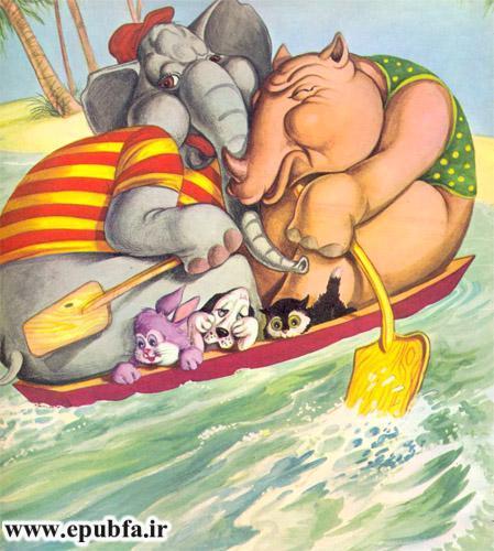 قصه کودکانه: حیوانات در دریا-کتاب قصه کودکانه-ایپابفا قصه و داستان7
