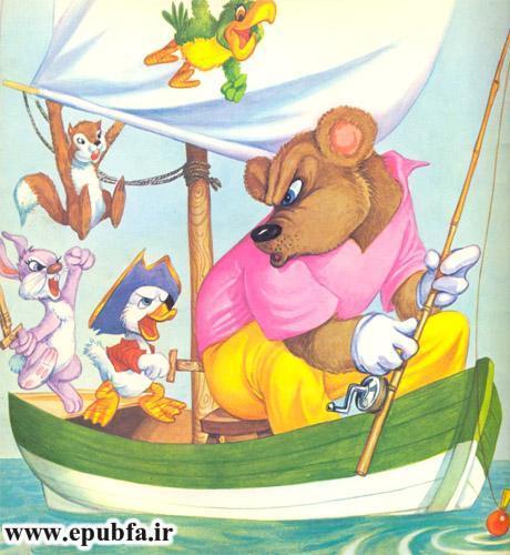 قصه کودکانه: حیوانات در دریا-کتاب قصه کودکانه-ایپابفا قصه و داستان13