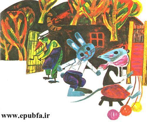 خانهای کوچک درمیان برف-کتاب قصه کودکانه-ایپابفا قصه و داستان11