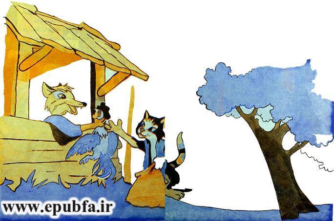 خروس باهوش-کتاب قصه کودکانه-ایپابفا سایت قصه و داستان8