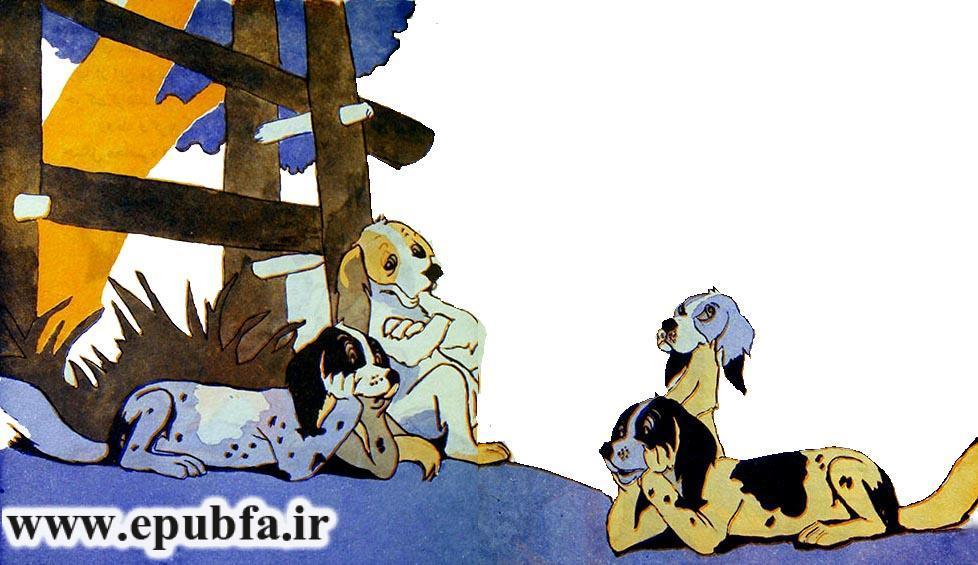 خروس باهوش-کتاب قصه کودکانه-ایپابفا سایت قصه و داستان9