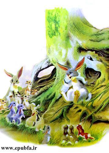 در آغوش مادر-قصه کودکانه تصویری-ایپابفا 8