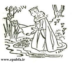 قصه های فانتزی آموزنده شاهزاده موطلایی جلد 32 کتابهای طلایی برای نوجوانان ایپابفا18
