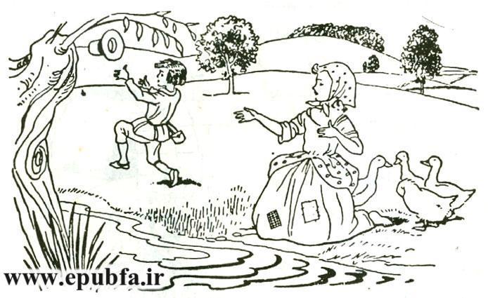 قصه های فانتزی آموزنده شاهزاده موطلایی جلد 32 کتابهای طلایی برای نوجوانان ایپابفا20