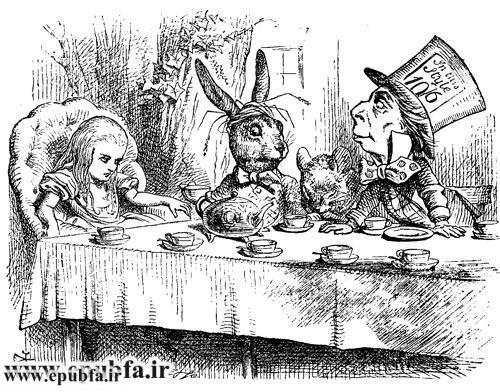 قصه فانتزی آلیس در سرزمین عجایب -لوییس کارول-کتاب های طلایی ایپابفا15