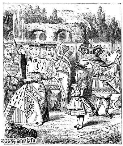 قصه فانتزی آلیس در سرزمین عجایب -لوییس کارول-کتاب های طلایی ایپابفا18