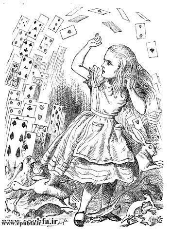 قصه فانتزی آلیس در سرزمین عجایب -لوییس کارول-کتاب های طلایی ایپابفا22