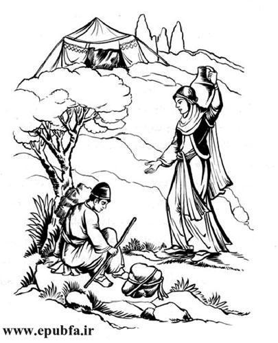 داستان آموزنده خیر و شر- قصه های تازه از کتاب های کهن- مهدی آذریزدی - ایپابفا دنیای قصه و داستان5