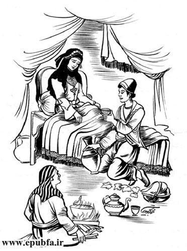 داستان آموزنده خیر و شر- قصه های تازه از کتاب های کهن- مهدی آذریزدی - ایپابفا دنیای قصه و داستان6