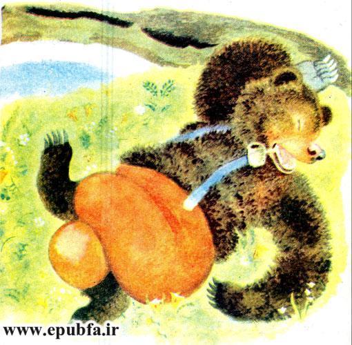 قصه کودکانه خرس دماغ سوخته برای کودکان ایپابفا 2