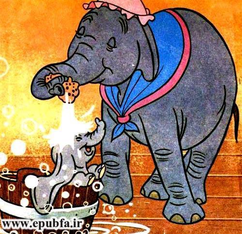 قصه فانتزی کودکانه دامبو فیل پرنده از کتاب های والت دیزنی در ایپابفا2