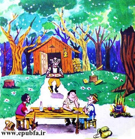 قصه کودکانه دنیای حیوانات و عمو جنگلی برای کودکان ایپابفا2