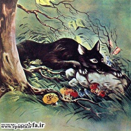 قصه روباه و گرگ برای کودکان و خردسالان3