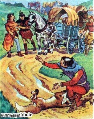 قصه روباه و گرگ برای کودکان و خردسالان7