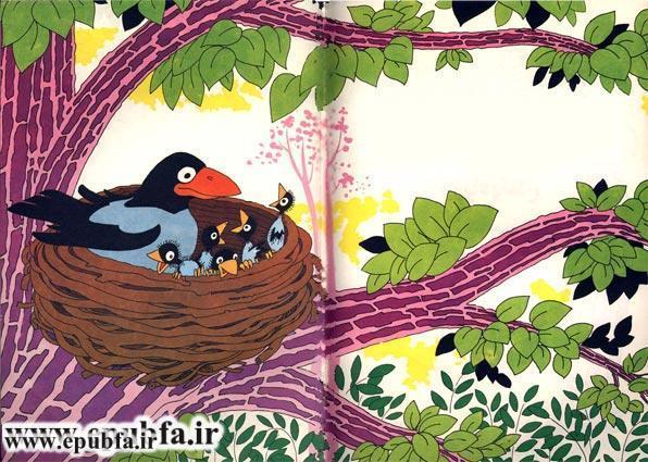 کتاب قصه تصویری قصه روباه و کلاغ برای کودکان و خردسالان-ایپابفا3