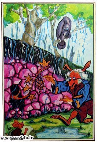 کتاب قصه «روباه زیرک» برای کودکان و خردسالان ایپابفا2