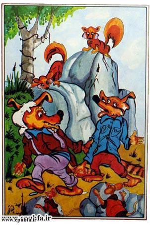 کتاب قصه «روباه زیرک» برای کودکان و خردسالان ایپابفا3