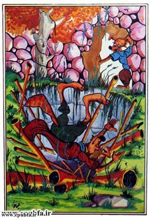 کتاب قصه «روباه زیرک» برای کودکان و خردسالان ایپابفا4