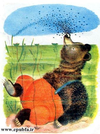 قصه کودکانه خرس دماغ سوخته برای کودکان ایپابفا 8