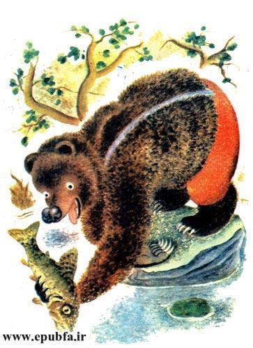 قصه کودکانه خرس دماغ سوخته برای کودکان ایپابفا 11