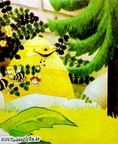 کتاب قصه کودکانه هاچ زنبور عسل، زنبور کوچولو و ماجراهای خطرناک - ایپابفا 3