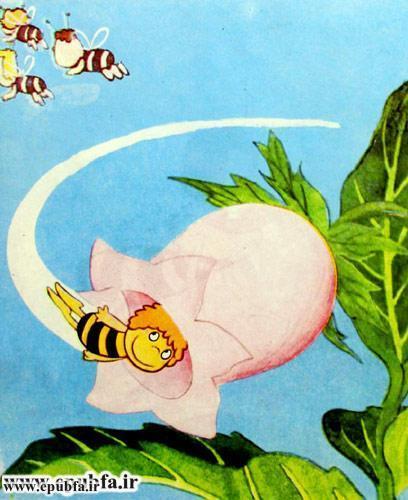 کتاب قصه کودکانه هاچ زنبور عسل، زنبور کوچولو و ماجراهای خطرناک - ایپابفا 5