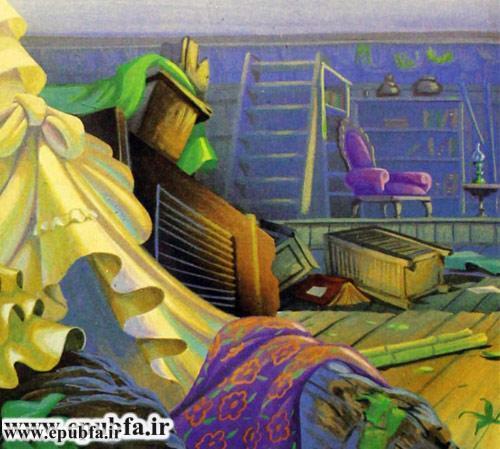 کتاب قصه کودکانه تارزان پسر جنگل برای کودکان و نوجوانان ایپابفا - کشتی شکسته