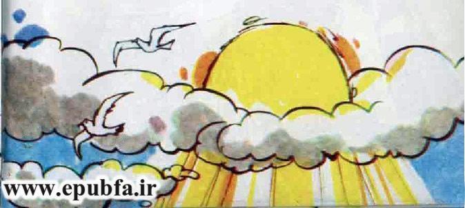 کتاب قصه کودکانه سرباز حلبی - داستان شب برای کودکان -بازافرینی قصه و داستان ایپابفا- صاف شدن هوا بعد از باران