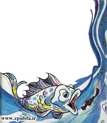کتاب قصه کودکانه سرباز حلبی - داستان شب برای کودکان -بازافرینی قصه و داستان ایپابفا- بلعیده شدن توسط ماهی