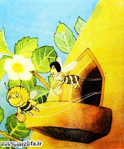 کتاب قصه کودکانه هاچ زنبور عسل، عسل درست می کند - ایپابفا 4