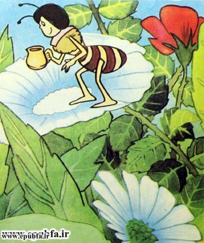 کتاب قصه کودکانه هاچ زنبور عسل، عسل درست می کند - ایپابفا 6