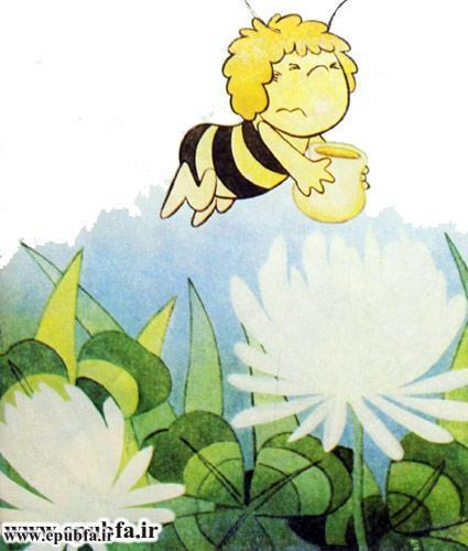 کتاب قصه کودکانه هاچ زنبور عسل، عسل درست می کند - ایپابفا 7