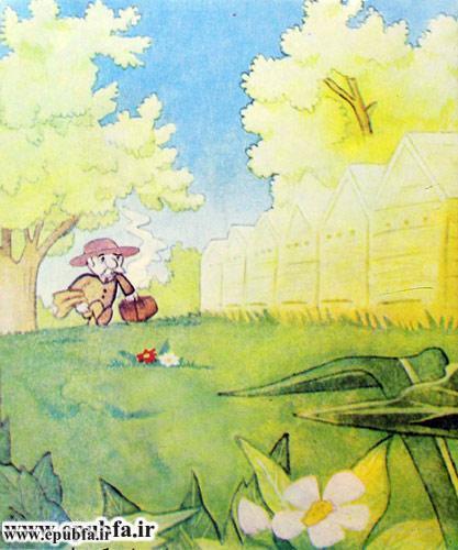 کتاب قصه کودکانه هاچ زنبور عسل، عسل درست می کند - ایپابفا 12