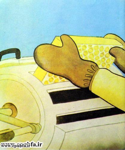 کتاب قصه کودکانه هاچ زنبور عسل، عسل درست می کند - ایپابفا 14