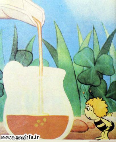 کتاب قصه کودکانه هاچ زنبور عسل، عسل درست می کند - ایپابفا 16