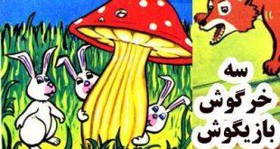 کتاب قصه کودکانه سه خرگوش بازیگوش