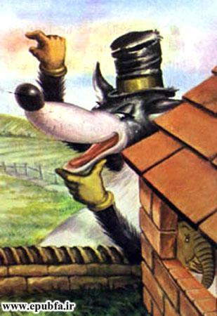کتاب قصه کودکانه سه بچه فیل - گرگ حیله گر نقشه می کشد
