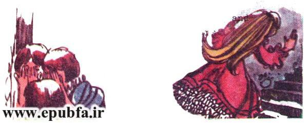 کتاب قصه غنچه گل سرخ: زیبای خفته -پری شرور - قصه کودکانه برای کودکان و نوجوانان