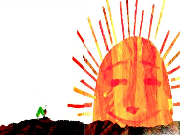 کرم ابریشم زیر نور خورشید خانم خندان- قصه کودکانه ایپابفا