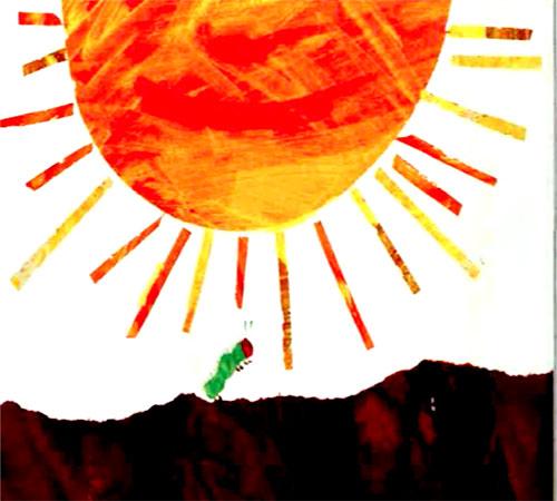 کرم ابریشم زیر نور خورشید - قصه کودکانه ایپابفا