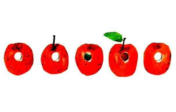 کرم ابریشم میوه ها و پرتقال ها را می خورد - قصه کودکانه ایپابفا