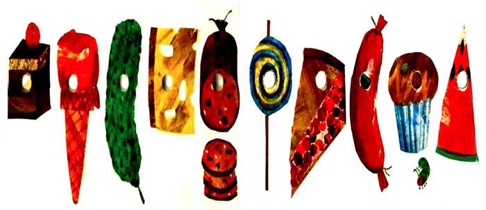 کرم ابریشم انواع غذاهای خوشمزه را می خورد - قصه کودکانه ایپابفا