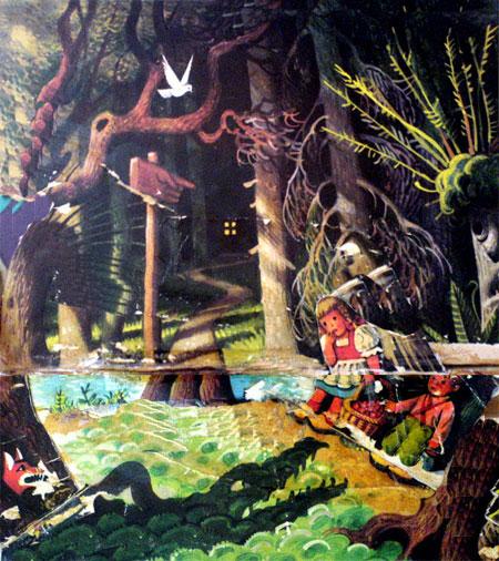 هانسل و گرتل در جنگل گم شدند و خیلی ترسیدند -قصه کودکانه ایپابفا