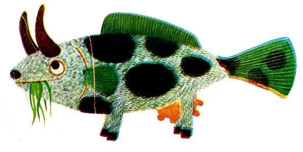 تصور ماهی از یک گاو - قصه کودکانه ایپابفا