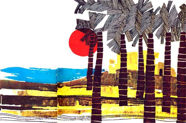 خورشید و نخلستان و دریا - قصه کودکانه ایپابفا