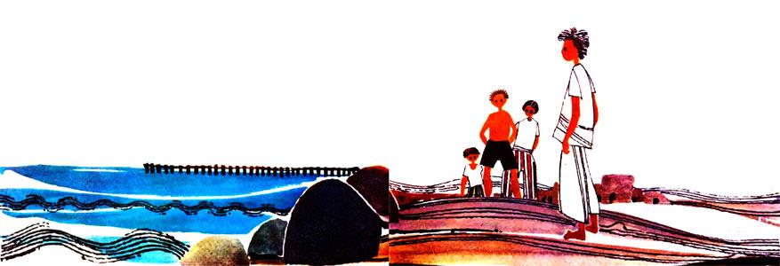 بچه های جنوب کنار دریا و ساکله - قصه کودکانه ایپابفا