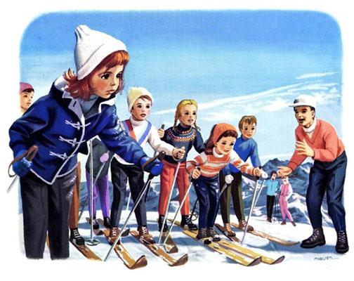 کتاب قصه مارتین در کوهستان و اسکی بازی - ارشیو قصه و داستان ایپابفا