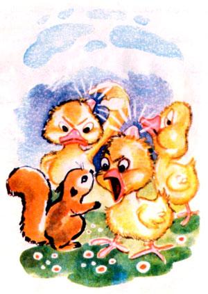 قصه کودکانه «سنجاب کوچولو»-مجموعه داستانهای مصوّر «آزاده»-ارشیو قصه و داستان ایپابفا