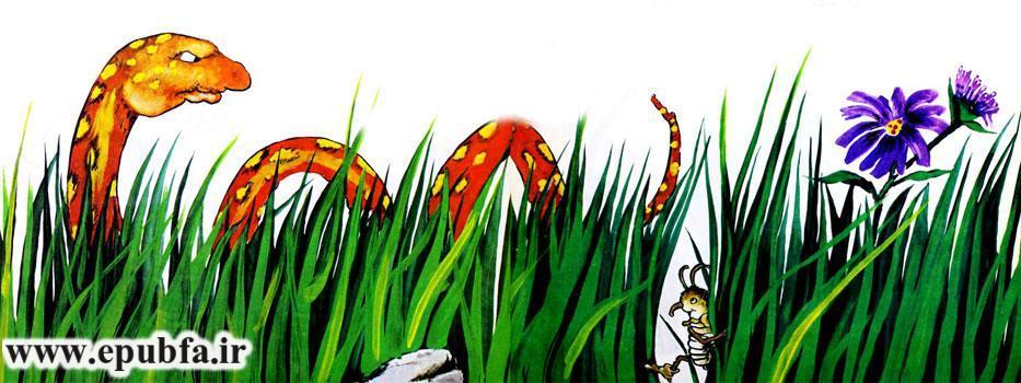 قصه آموزنده «ساس خوشبخت»-تا شقایق هست زندگی باید کرد-ارشیو قصه و داستان ایپابفا