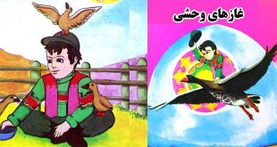 داستان کودکانه غازهای وحشی (7کاور)